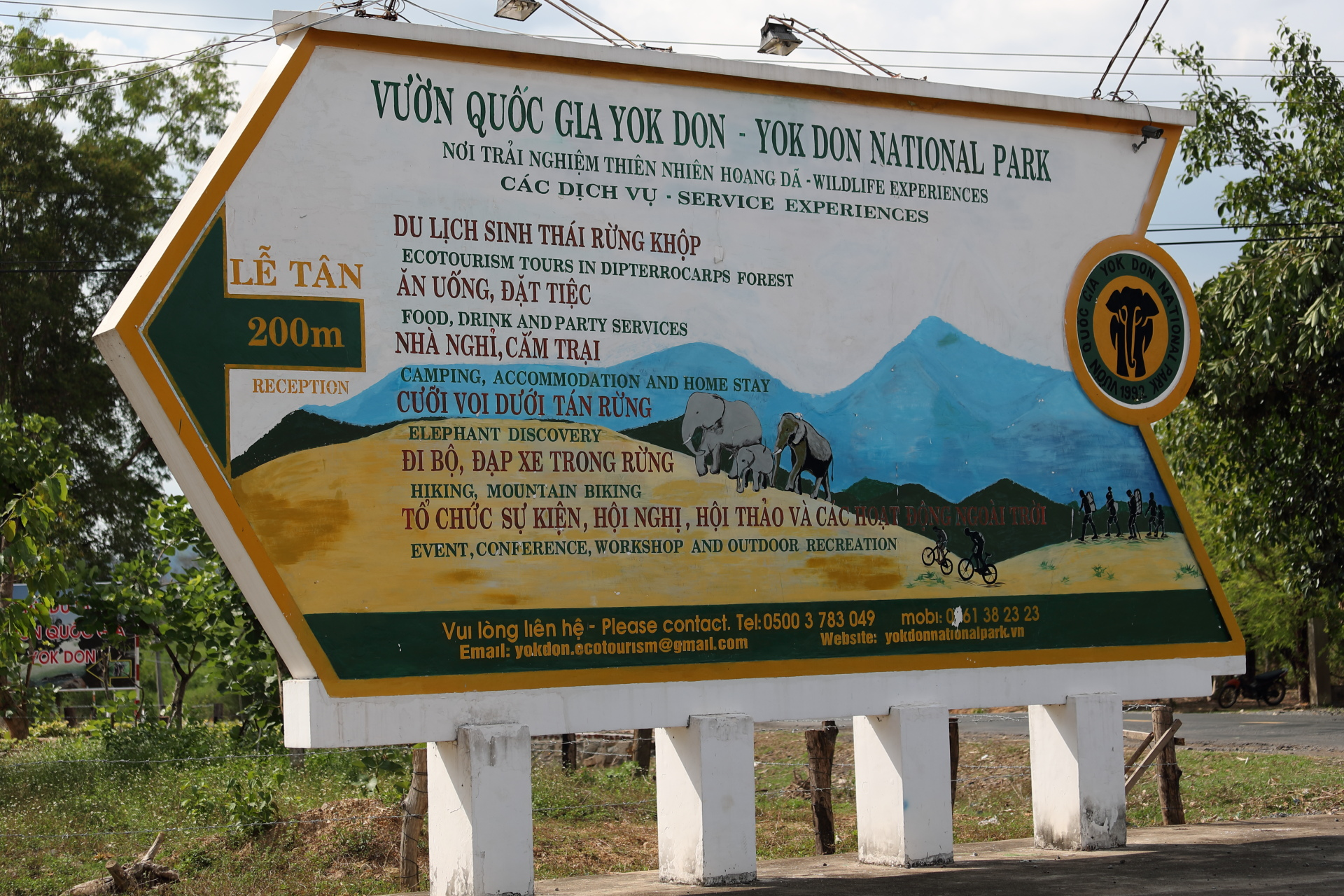 Vietnam - Yok Đôn - Der Dschungel ruft