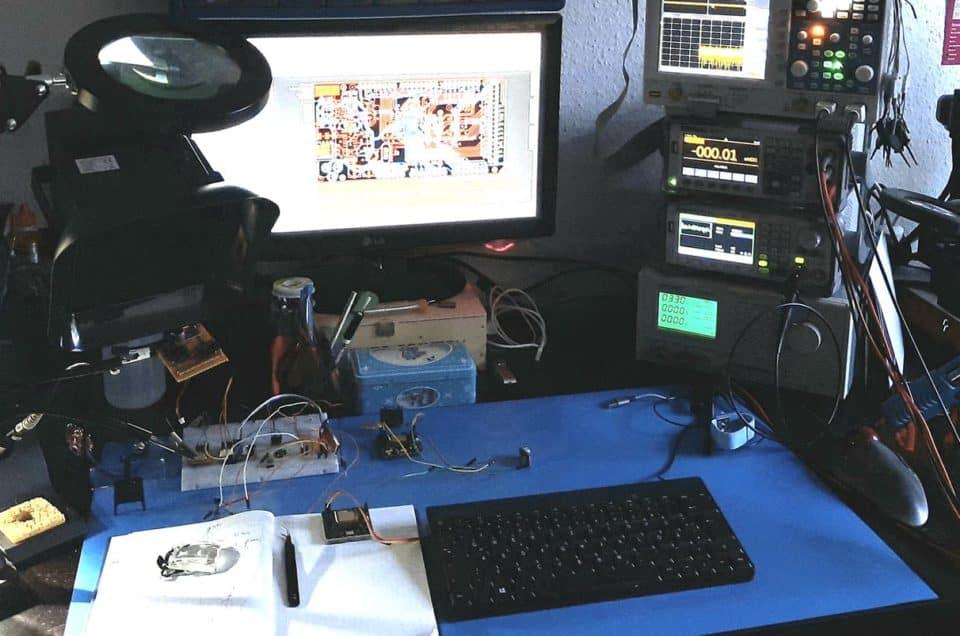 Die Sony A9 im Labor